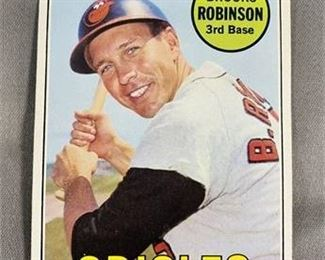 Lot 058 1969 Topps Brooks Robinson Card