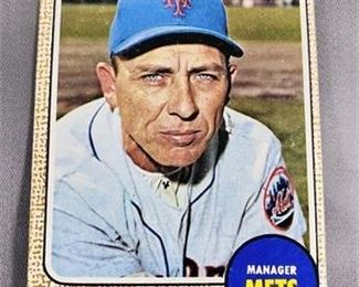 Lot 049 1968 Topps Gil Hodges Card