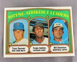 Lot 045 1972 Topps Tom Seaver Card