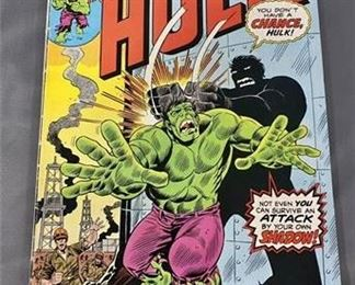 Lot 106 25¢ Incredible Hulk #184 Comic Book