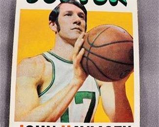 Lot 229 1971-72 Topps John Havlicek Card
