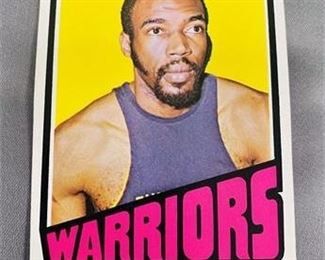 Lot 222 1972-73 Topps Nate Thurmond Card