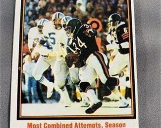 Lot 206 1979 Topps Walter Payton Card