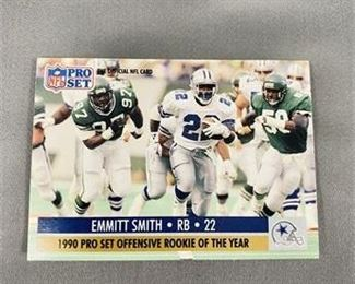 Lot 167 1990 Pro Set Emmitt Smith Card