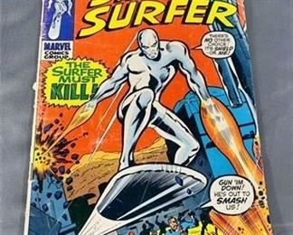 Lot 127 15¢ Silver Surfer #17 Comic Book