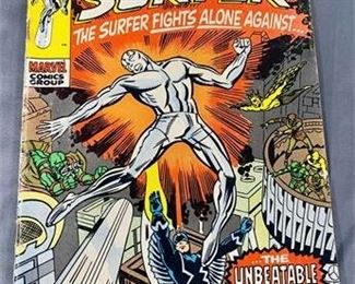 Lot 128 15¢ Silver Surfer #18 Comic Book