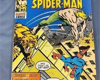 Lot 122 25¢ Ka-Zar #3 ft Spider-Man Comic Book