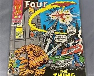 Lot 110 15¢ Fantastic Four #111 Comic Book