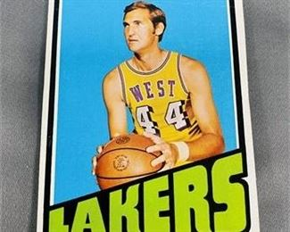 Lot 073 1972-73 Topps Jerry West Card