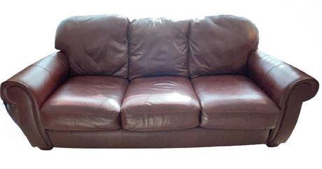 Lot 002 Lane Leather Sofa.    https://www.bidrustbelt.com/Event/LotDetails/118850353/Lane-Leather-Sofa