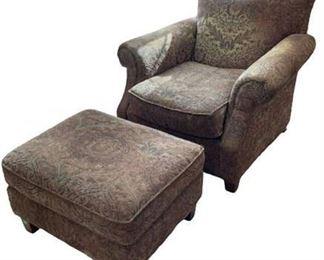 Lot 004 Bernhardt Chair and Ottoman.    https://www.bidrustbelt.com/Event/LotDetails/118852511/Bernhardt-Chair-and-Ottoman