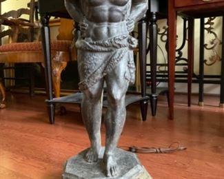 Antique Lamps Greco Roman Bronze