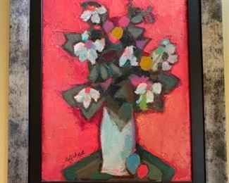 David Addicks Oil on Canvas