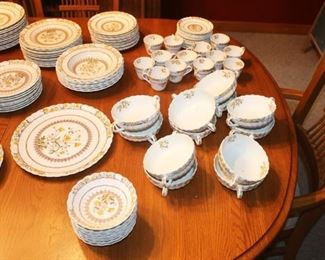 Spode Butter Cup China - Over 130 Pieces - Some Pieces available for Individual Purchase