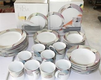 Studio Nova Kaleidoscope Dishes - Service for 8 plus Service for 4 New in Box (2 Boxes).  New Box Sets available for Separate Purchase.