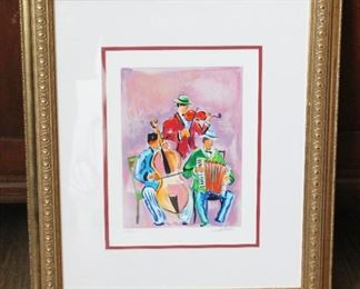 Francois Gicot Print - Signed and Numbered