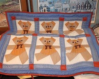 Handmade Child's Quilt