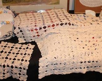 Hand Crochet Linens