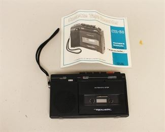 Portable Cassette Player/Recorder