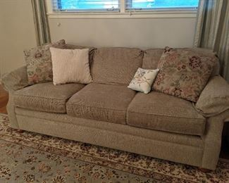 Barely used quality couch