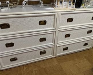 Cane 6 drawers dresser