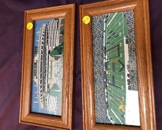 Framed Sports pics