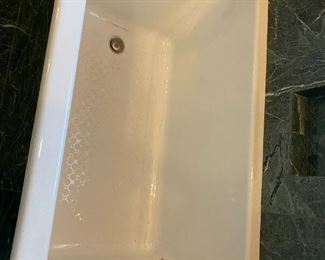 cast iron tub, 5 1/2 feet, Kohler, Kathryn