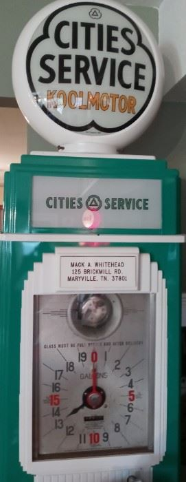 City Services Gas Pump
