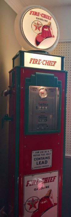 Fire Chief Gas Pump