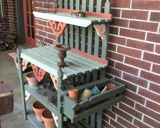 Garden work station