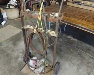 Bottle Cart with Torch