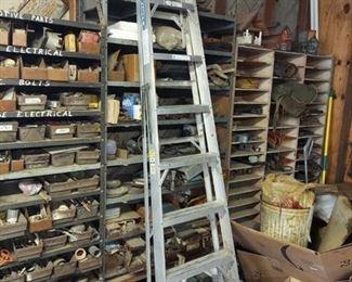 8' Aluminum Step Ladder