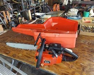 Shindaiwa 345 Chainsaw with Case