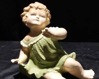 1972 Reproduction Ceramic Piano Baby