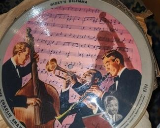 Jazz Greats on 78's and  33's as well as 45's