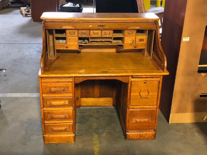 Antique Roll Top Desk from High Point North Carolina