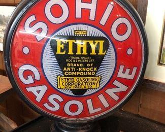 Front Sohio gas globe
