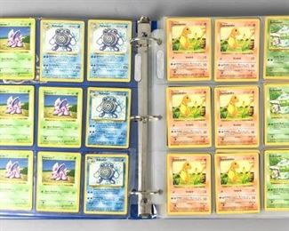 5	Collection of Pokémon Cards	Collection of Pokémon cards, including some in Japanese. In binder.