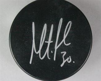 8Martin Brodeur Autographed NJ Devils PuckSigned Martin Brodeur NJ Devils NHL hockey puck