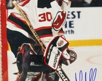 10Martin Brodeur NJ Devils Autographed PhotoSigned Martin Brodeur NJ Devils NHL hockey photograph.