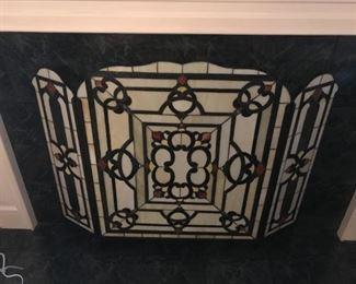 Intricate Fireplace Screen
