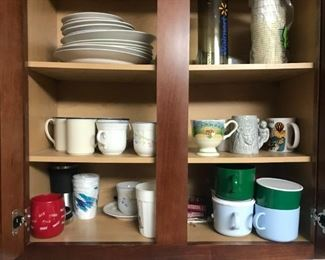 Variety Of Mugs