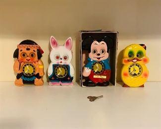 Collectible Mi-Ken Clocks