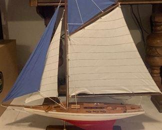 Model Sail Boat