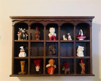 Display Shelf and Collectibles