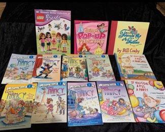 Fancy Nancy Books, Lego Friends Books, Bill Cosby Book