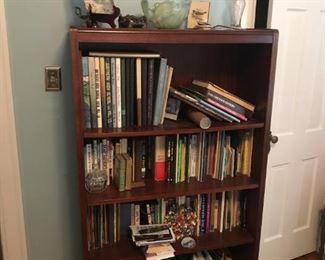 Book Shelf W/ Variety of Books