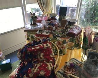 Large Assortment of Christmas Decor.