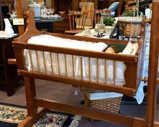 Hand made cradle