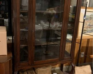 China Cabinet - glass on 3 sides